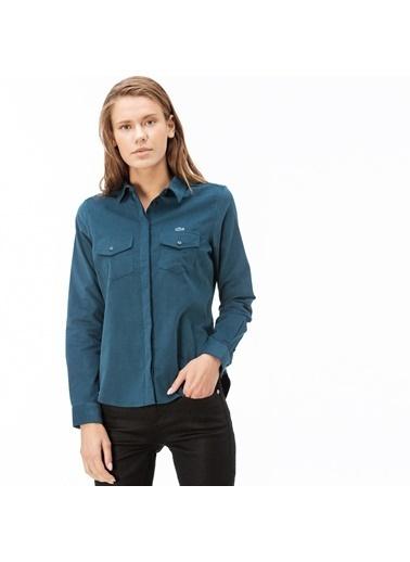Lacoste Kadın  Gömlek CF2006.06Y Yeşil